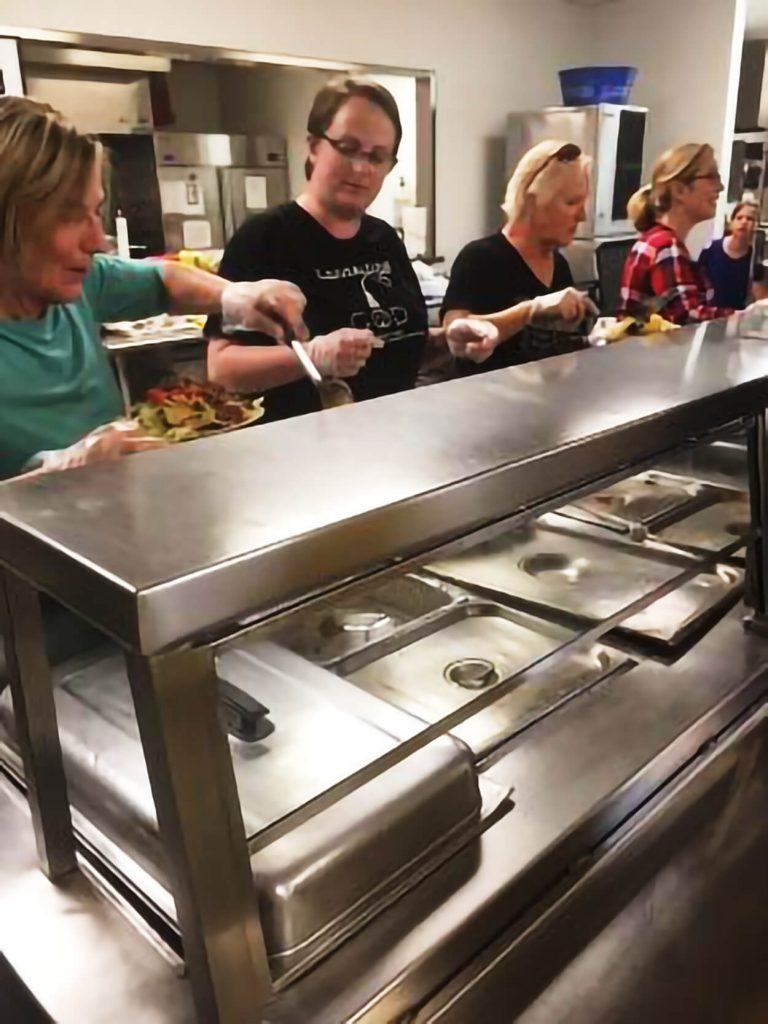 House Of Hope Serving Food